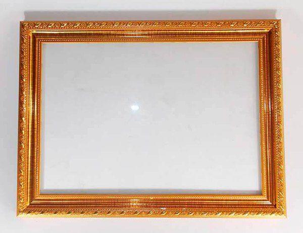 Khung bằng khen màu trám vàng bản 2cm KhungTranhRe 1 1