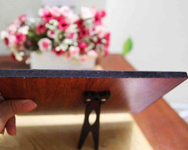 mẫu 6 ảnh gỗ để bàn