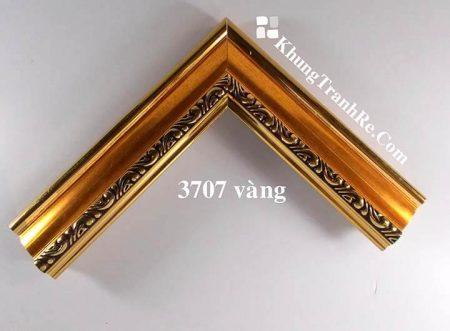 phào khung tranh 3707 vàng