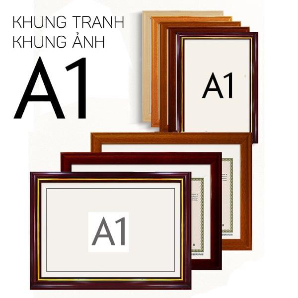 Khung tranh A0 - A1 khổ lớn