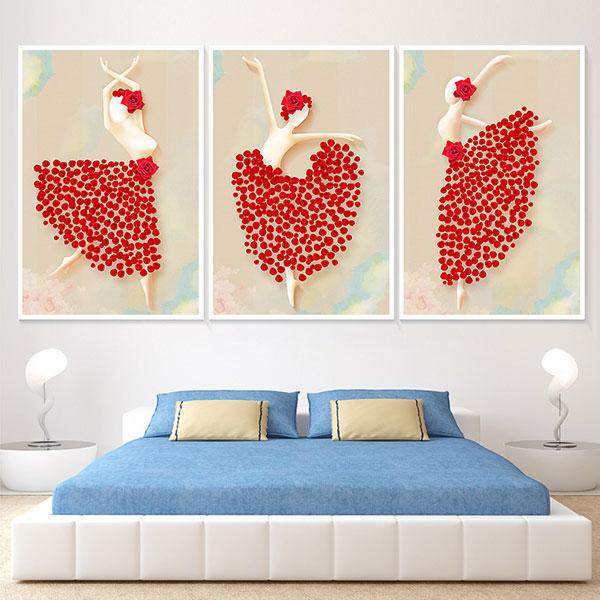 Tranh canvas phòng ngủ đẹp nhất
