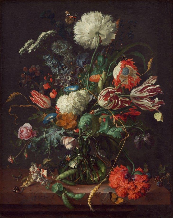 tranh hoa noi tieng 9