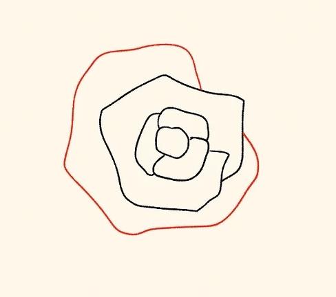 ve tranh hoa hong 125