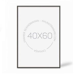 Khung tranh 40x60cm hiện đại