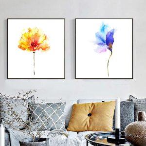tranh hoa ve mau nuoc 1 1
